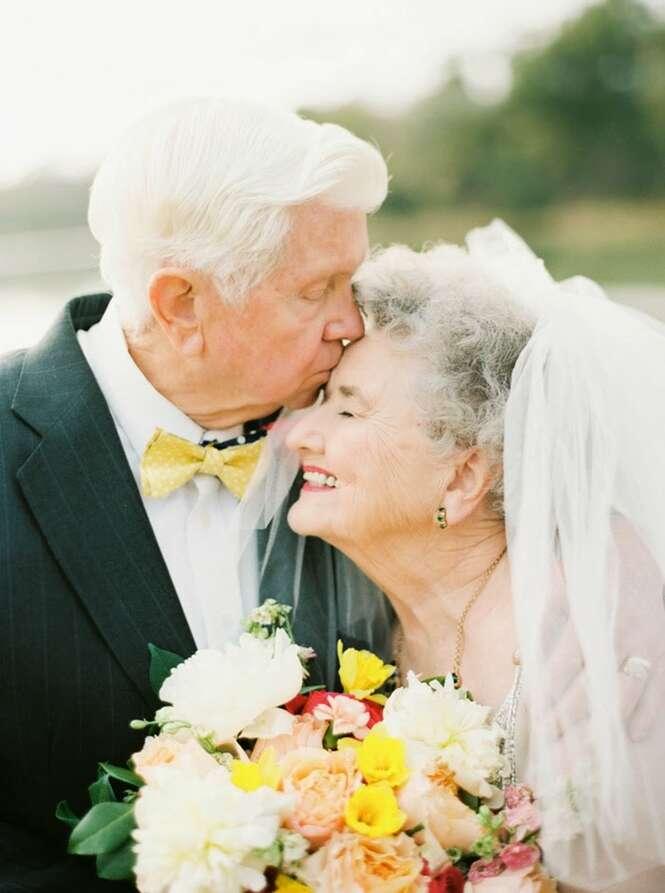 Avós usam Photoshop para comemorar 63 anos de amor