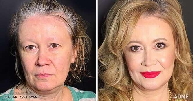 Esta maquiadora talentosa pode transformar qualquer mulher em uma verdadeira Miss