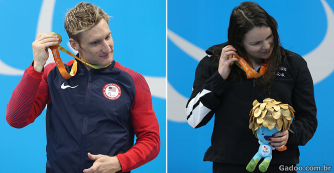 Atletas paraolímpicos podem pela primeira vez escutar suas medalhas