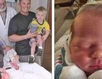 Mulher dá à luz no mesmo dia durante três anos consecutivos