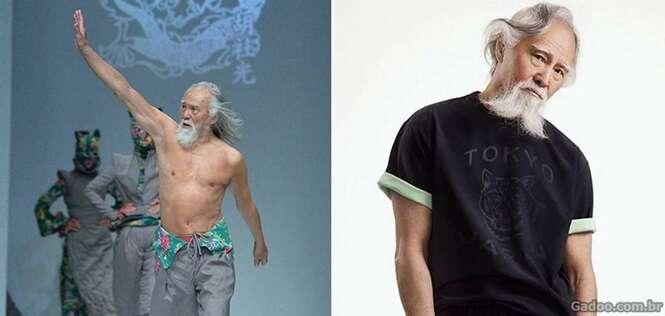 Modelo de 80 anos prova que nunca é tarde para buscar seus sonhos