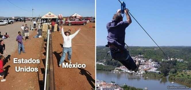 Imagens revelando como é a fronteira em algumas partes do mundo