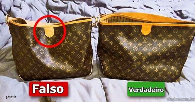 Formas de descobrir se uma bolsa é falsa ou verdadeira