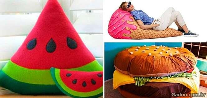 Itens criativos para a casa de quem ama comer