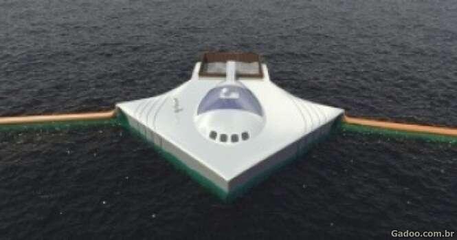 Jovem de 20 anos cria sistema para retirar todo o lixo do oceano