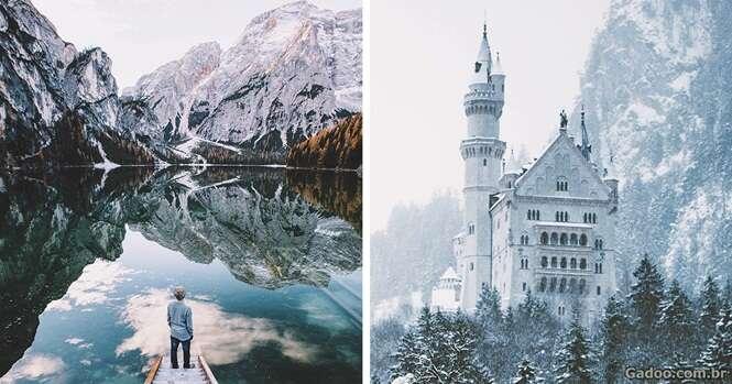 Estas imagens vão querer fazer você largar tudo e viajar pelo mundo