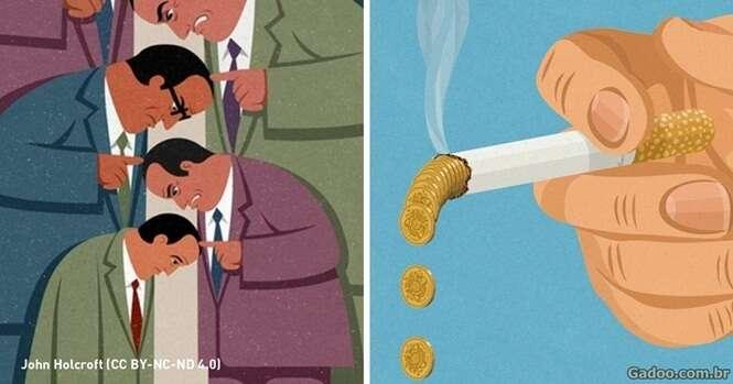 Ilustrações trazem as verdades da vida