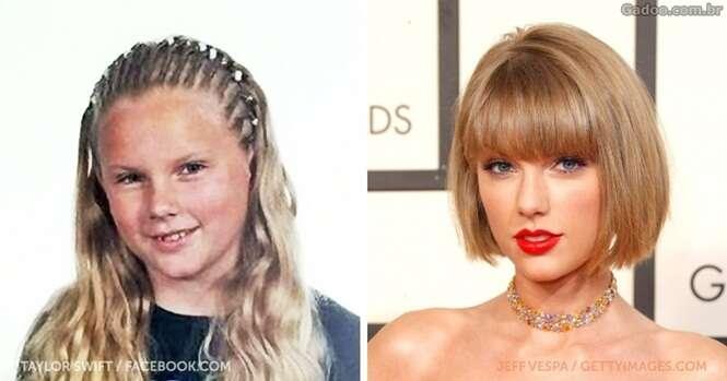 Celebridades que floresceram após a puberdade
