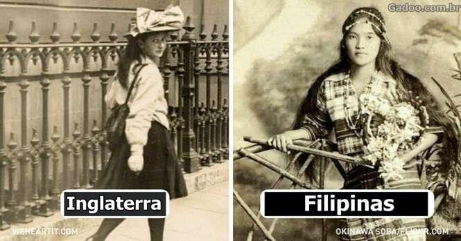 Como os jovens eram fisicamente 100 anos atrás