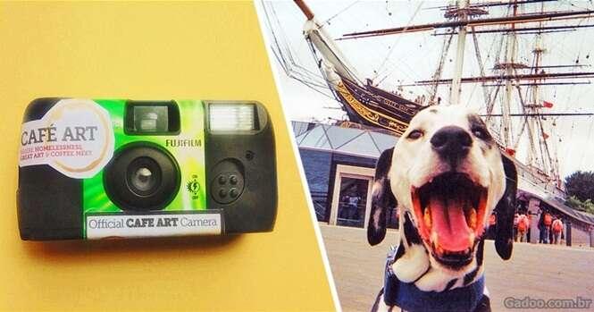 Mendigos recebem máquinas fotográficas para registrarem o que acham importante, e resultado surpreende