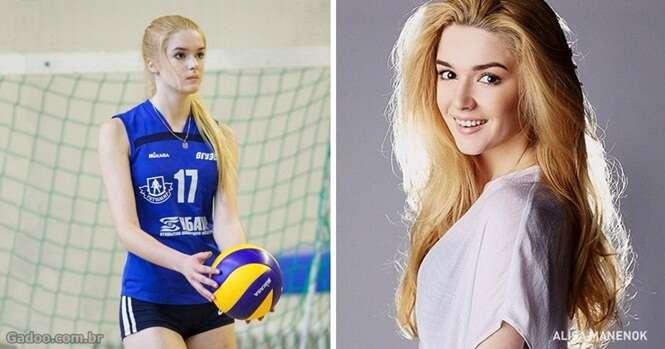 A mais bela jogadora de vôlei de todos os tempos