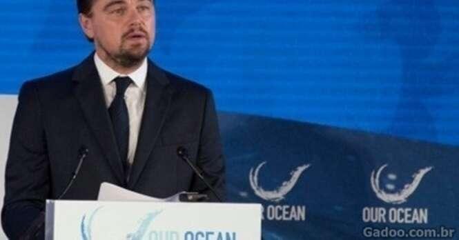 Leonardo Di Caprio levanta a voz contra a pesca ilegal no mundo