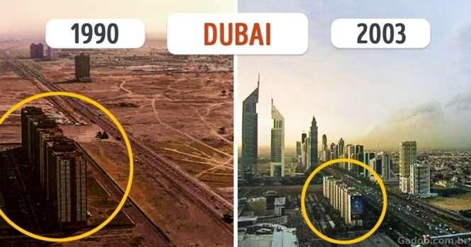 Cidades fantásticas que mudaram demais nos últimos tempos