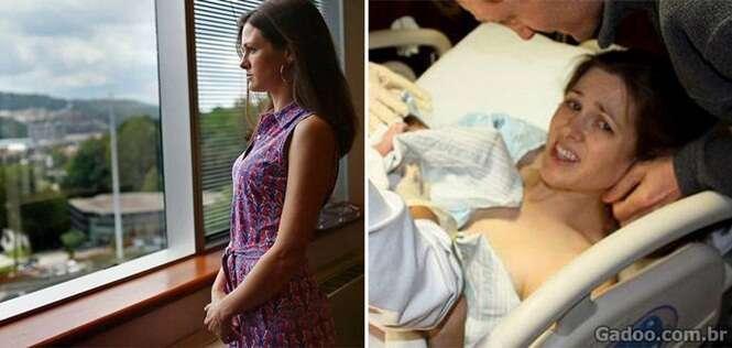Mãe teve bebê empurrado para dentro durante parto e acabou recebendo indenização milionária