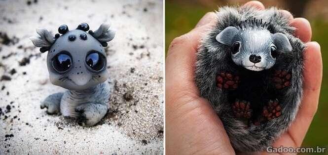 Casal faz monstrinhos de brinquedos tão fofos que dá vontade de ter todos em casa