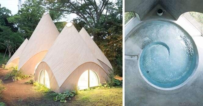 Arquiteto japonês cria casas incríveis para idosas aposentadas viverem no meio da natureza