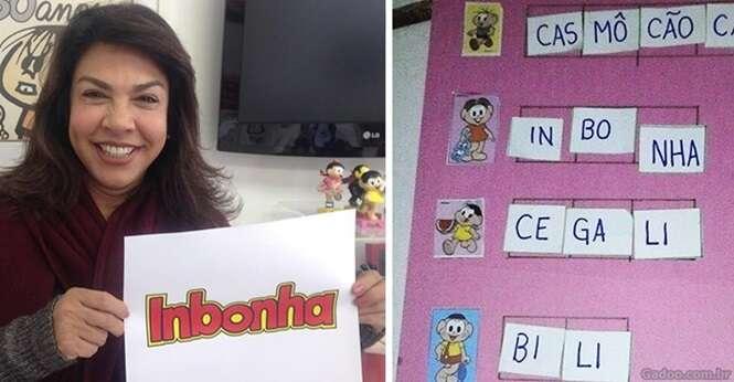 """Até a Mônica real se rendeu ao """"Inbonha"""""""