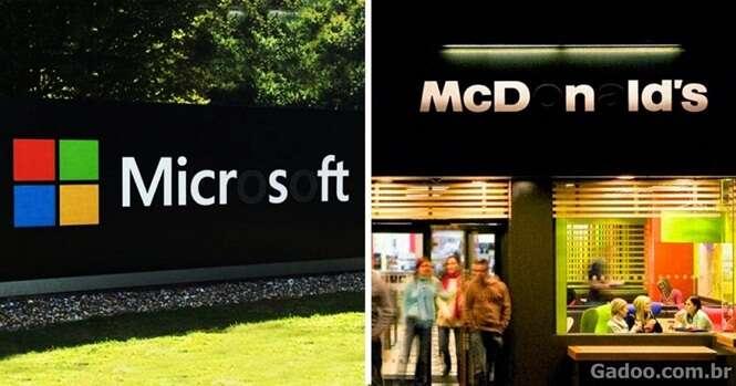 Por que essas marcas famosas estão derrubando algumas letras de seus nomes?