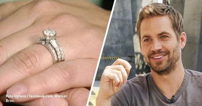 Antes de morrer Paul Walker gastou R$ 30 mil em um anel para um casal que não conhecia