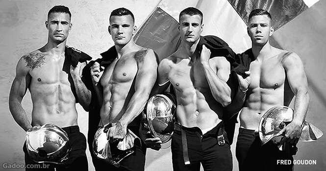 Esses bombeiros franceses lançaram o calendário mais quente do ano
