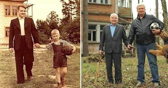 Fotos mostrando que algumas coisas nunca mudam