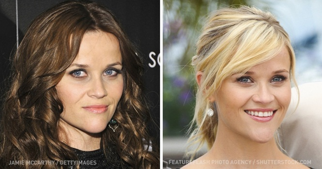 Imagens provando que a cor dos cabelos muda tudo