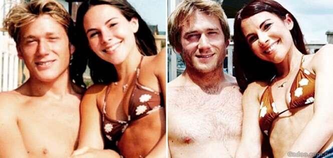 Casais juntos há anos recriam fotos antigas e mostram que o verdadeiro amor ainda existe