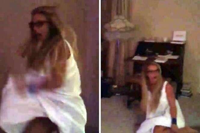 Os filhos de Britney Spears deram um baita susto nela e gravaram tudo