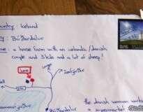 Um cara desesperado desenhou um mapa ao invés do endereço – e a ideia funcionou