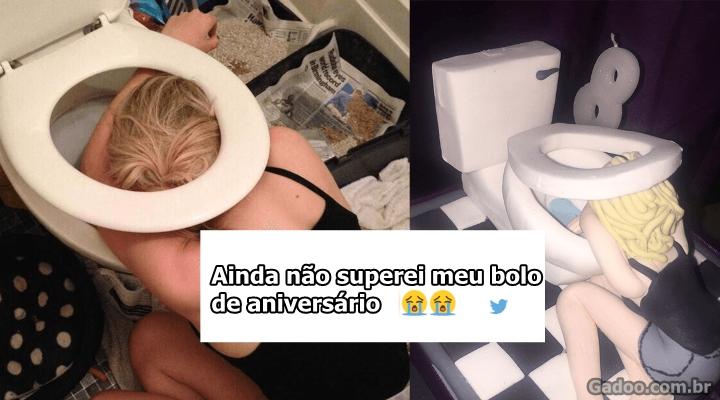 Mãe escolhe foto no Facebook da filha para fazer bolo em comemoração ao 18º aniversário da jovem