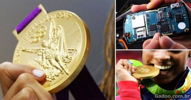 Japão vai reciclar celulares para fazer medalhas para Tóquio 2020