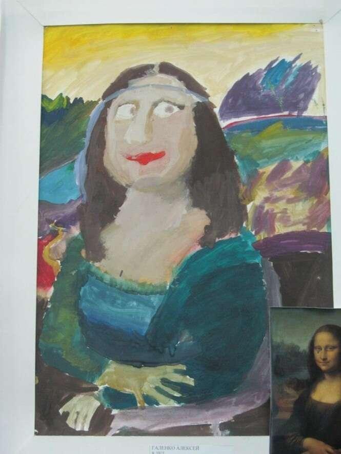 Estas crianças recriaram obras-primas de clássicas pinturas