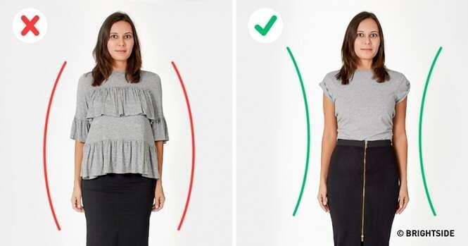 Erros que cometemos ao escolher roupas e que não ajudam a mostrar nosso melhor