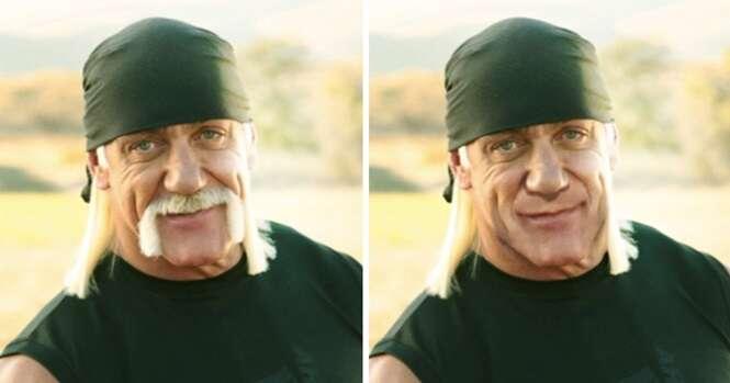 Imagens provando que o bigode pode deixar um homem irreconhecível
