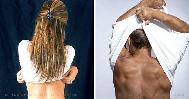Coisas que mulheres e homens fazem de maneira diferente