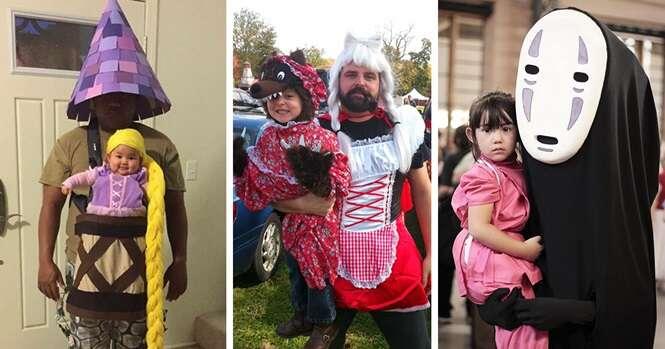 Melhores fantasias para pais e filhos para o Dia das Bruxas
