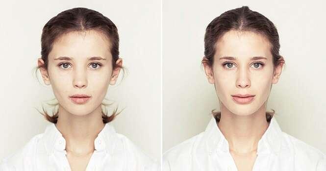 Veja como as pessoas seriam se seus rostos fossem totalmente simétricos