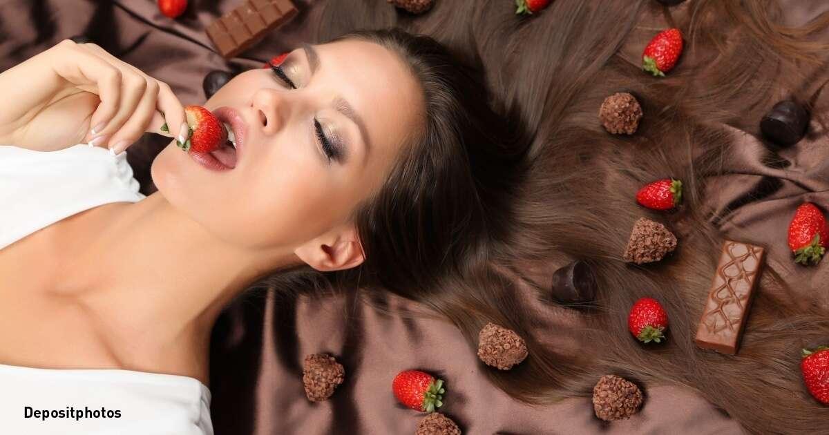 Comer chocolate não engorda.