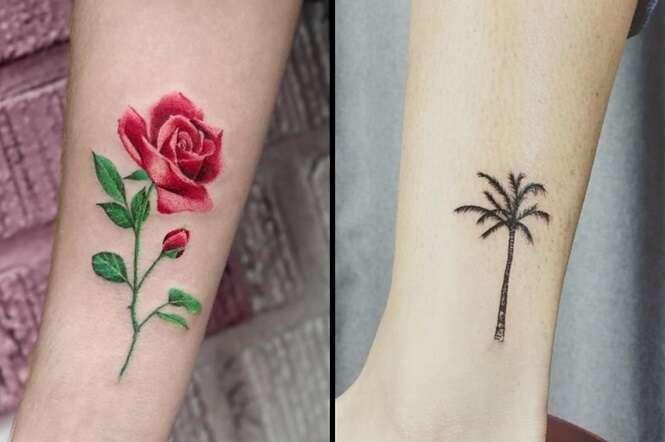 Tatuagens botânicas pelas quais você ficará obcecado (a)