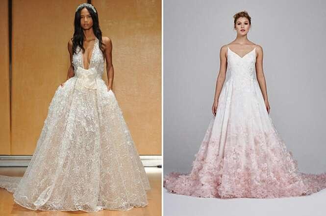Vestidos de casamento tão bonitos que farão você se esquecer de todas as preocupações