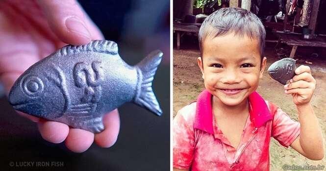 Brilhante médico canadense inventa peixe de ferro, que pode salvar as pessoas da anemia