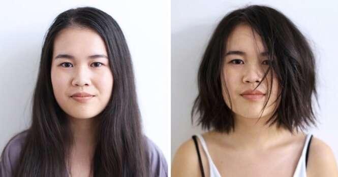 Imagens mostrando que o cabelo pode mudar tudo