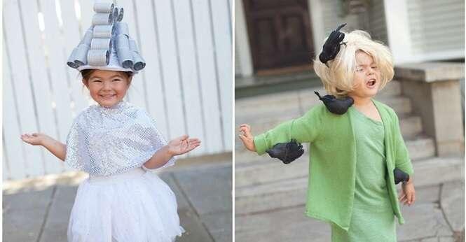 Esta menina ficou uma gracinha em cada uma de suas 23 fantasias para o Dia das Bruxas