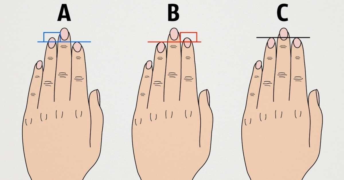O que o comprimento de seus dedos revela sobre a sua personalidade?