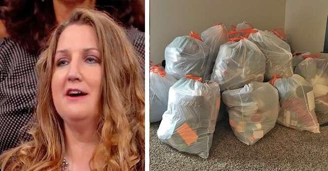 Adolescentes se recusam a limpar seus quartos e mãe joga todas as coisas delas no lixo como castigo
