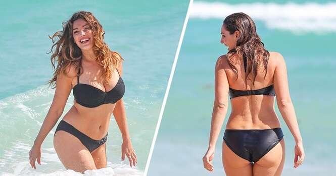 O corpo ideal de uma mulher deve ser semelhante ao dessa modelo, diz estudo