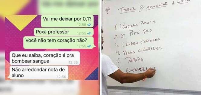 Os professores brasileiros mais zoeiros que você já viu