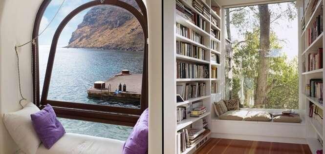 Lugares perfeitos para quem gosta de ler