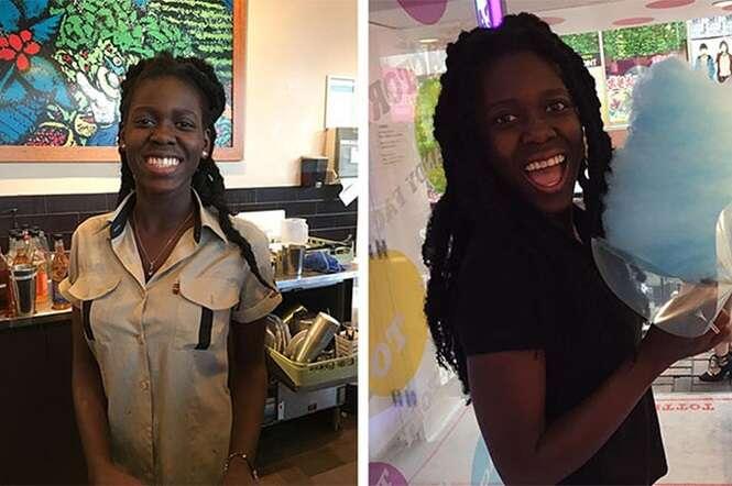 Esta barista deu a melhor resposta quando uma cliente pediu para ser atendido por uma pessoa branca