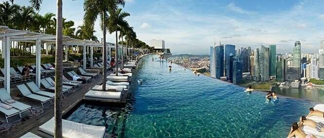 Hotéis construídos para quem é muito rico
